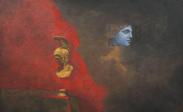 """Saatchi Art Artist Juan Manuel Álvarez Cebrián; Painting, """"Teorias"""" #art"""