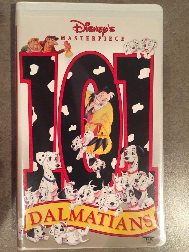 DISNEY VHS Masterpiece 101 Dalmatians