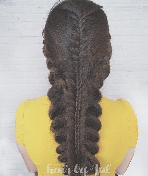 #365daysofbraids #day65 #multibraid #hairchallenge #braids #hairstyle #brunette #longhair #hotd #hairblog #hairblogger #hairstylist #warkocze #wlosy
