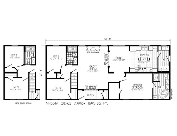 2 Story House Floor Plans With Basement best 25+ ranch floor plans ideas on pinterest | ranch house plans