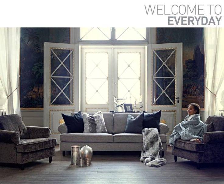 Καθιστικό της νέας, μοντέρνας & προσιτής συλλογής EVERYDAY #sofas #armchairs #furnitureathens #avax