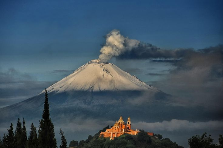 ©Cristobal Garciaferro Rubio Вулкан Попокатепетль. Мексика
