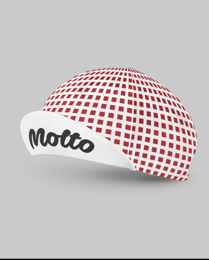 Squares cycling cap