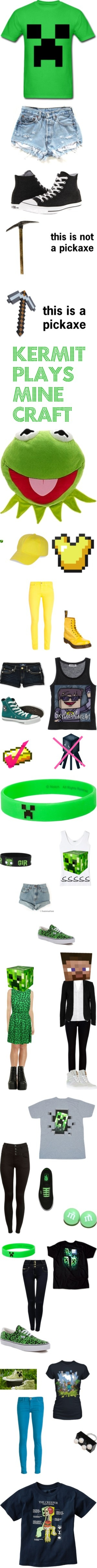 """""""minecraft33"""" by skydoesminecraft ❤ liked on Polyvore"""