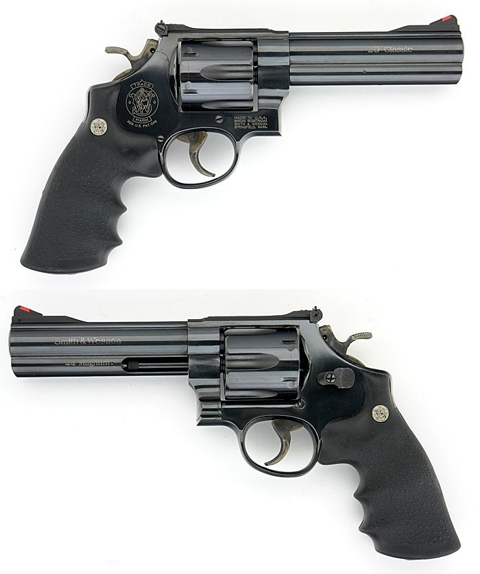 """Smith & Wesson 29 Classic - 5"""" I have one of these beautiful guns. Find our speedloader now!  http://www.amazon.com/shops/raeind"""