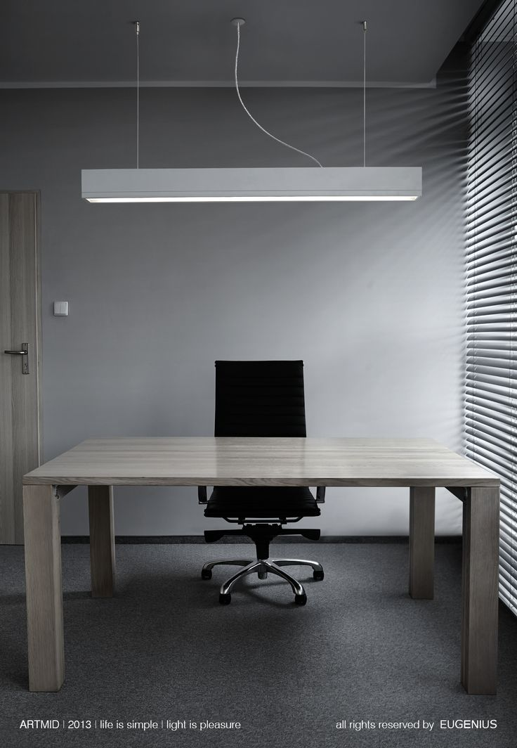 EUGENIUS. modern lighting, interior lamps for office. simple and elegant solution for office lighting. hanging lamp above the desk give not only light but also fulfill the space giving the unique character.