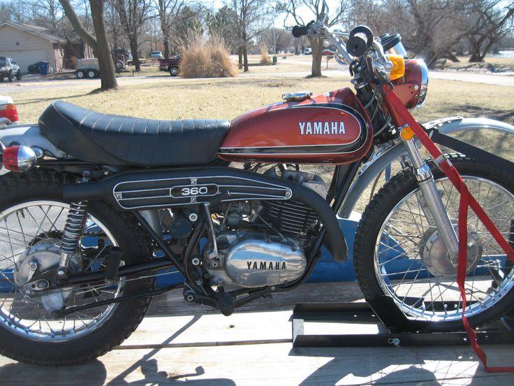 263 best images about vintage yamaha enduros on pinterest for Yamaha 360 enduro