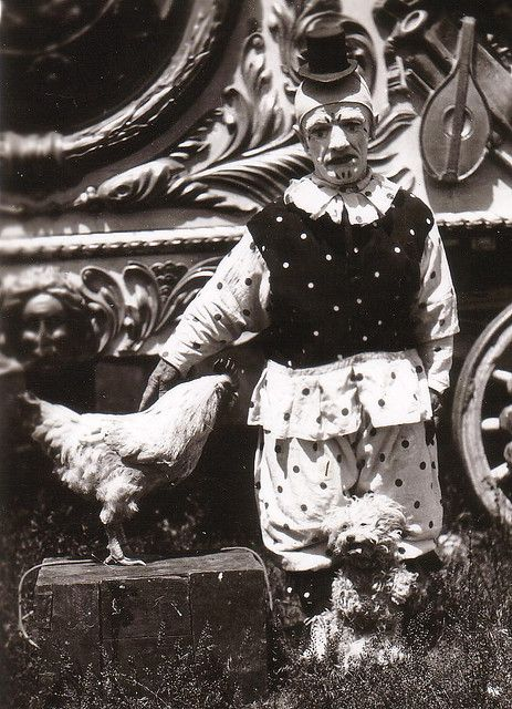 Rooster and a Dog! (I am closing this board - please go to Vintage Creepiness IV)