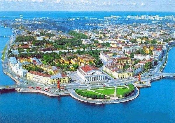 Васильевский остров, Санкт-Петербург, Россия