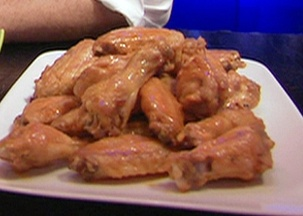 Orange Glazed Chicken Wings from FoodNetwork.com