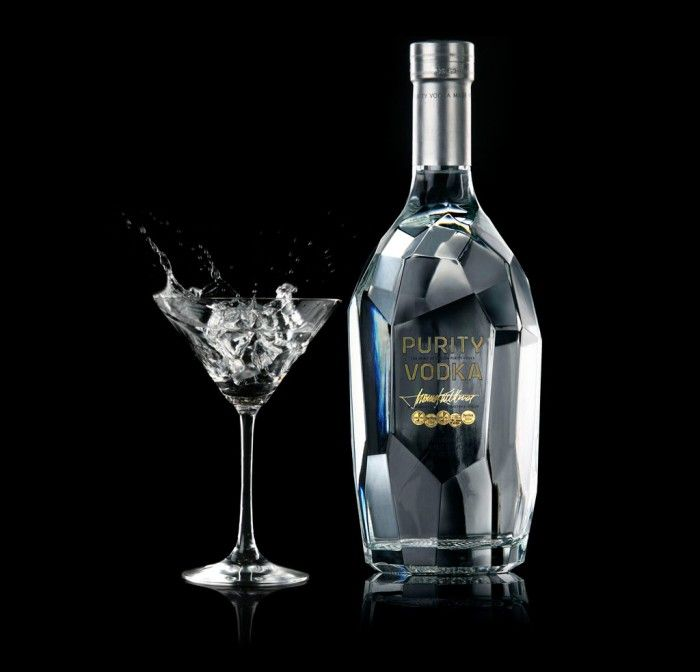 Purity Vodka designed by Martin Lannering