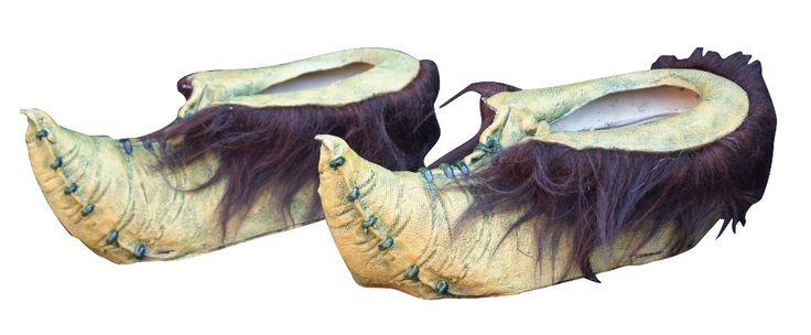 Zapatos de duende verde adulto Halloween. Disponibles en www.vegaoo.es