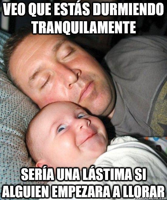Bebés y sus planes malvados Gracias a http://www.cuantocabron.com/ Si…