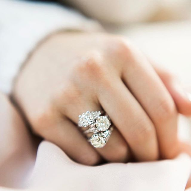 The Prettiest Vintage Engagement Rings From Victor Barboné Jewelry One Of A Kind Diamond