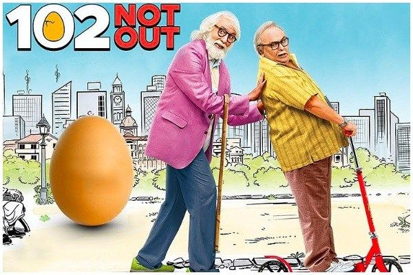 102 Not Out Trailer Amitabh Bachchan Rishi Kapoor S Witty Banter Is Unusual Father Son Relationship Movies Amitabh Bachchan Full Movies