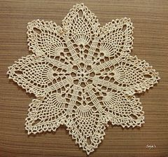 Ravelry: Easy Pineapple Doily pattern by Sylvia Landman