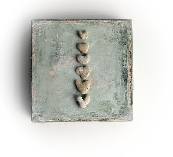 Unique Christmas Gift   genuine Heart shaped by MedBeachStones, $42.00