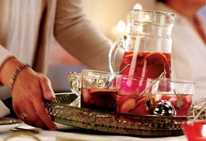Sangria d'hiver #cocktail #noel