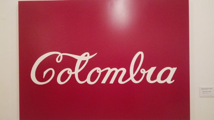 Antonio Jose Caro Lopera bogota (cundinamarca) 1950 Colombia coca cola 1976 esmalte sobre lamina