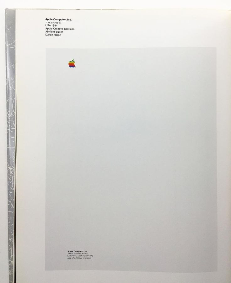 Good morning graphic fans. The 1984 Apple letterhead paper from the only now know how essential it is superbook Letterheads. Edited by the great Takenobu Igarashi. Published 1986. The world was never the same again (not necessarily because of this book btw). Email if you want@ideanow.online #letterheads #apple #igarashi #1986 by idea.ltd
