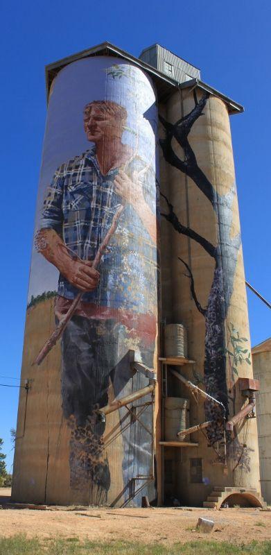 Patchewollock silo