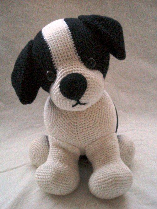 www.pinterest.com... Crochet dog 3.99