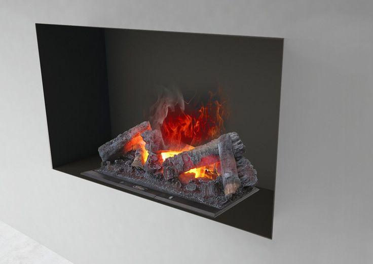Dai calore alla tua casa, infiamma le stanze. Con il camino elettrico da arredo ad acqua Incasso 90 può creare il muro come preferisci attorno alla fiamma 3D senza bisogno di canne fumarie o legna da ardere  Camino elettrico da arredo incasso MaisonFire Incasso 90 Acqua ICA90A