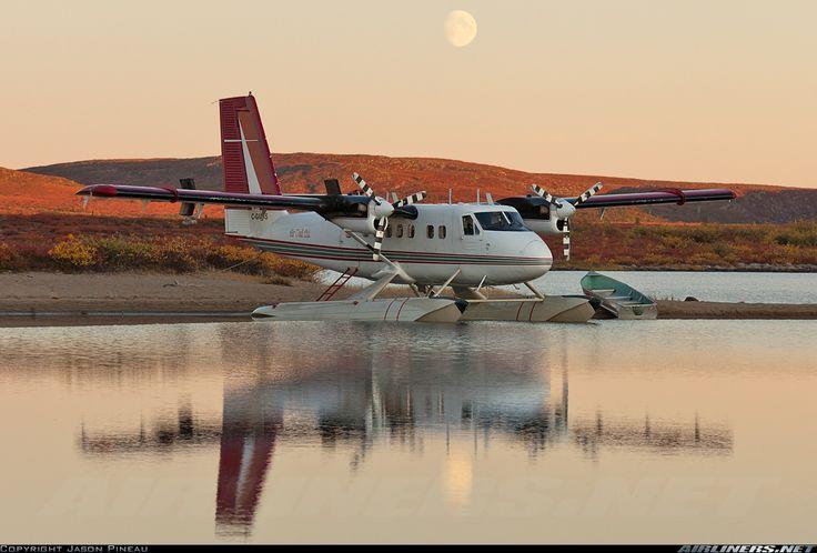 Air Tindi Twin Otter on floats  @Jason Pineau
