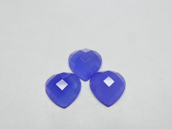 Classy Amazing Tanzanite Blue Chalcedony 3 Pieces by StarGemBeads