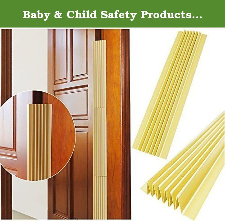 Baby & Child Safety Products,The Crack Of The Door Protection Products,2-Piece,17.7inch, For Preventing Children From Accessing Cupboards, Cabinets, Refrigerators,Appliances,Toilets ... (Beige). Baby to curious about new things, often reached into the crack of the door, but don't realize the danger. Article door protection to prevent the baby by the crack of the task of fingers. Article door can free expansion according to the crack size,Build a safe and comfortable for the baby's growth...