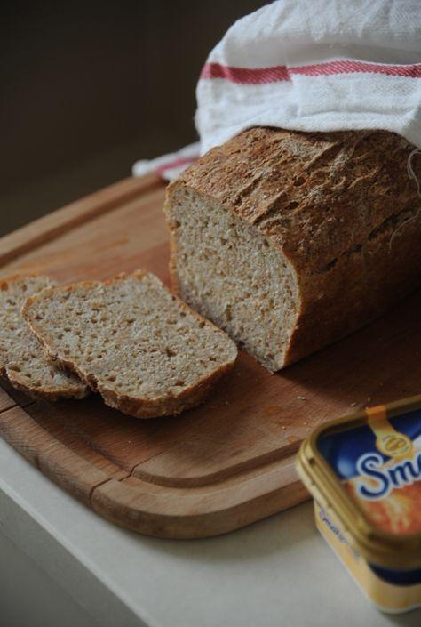 Nocny chleb na kefirze