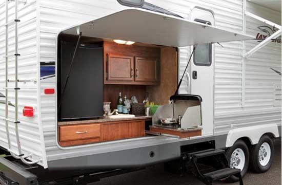2011 Jayco Jay Flight G2 Travel Trailer Outdoor Kitchen