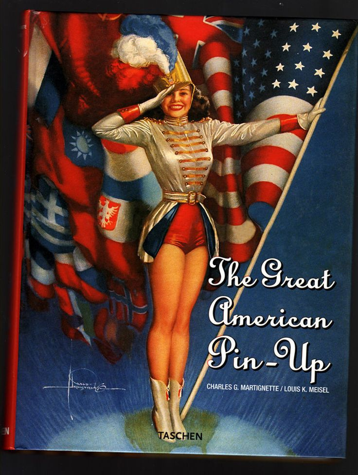 ENDING AUCTION / PinUp illustration Great American PinUp Taschen ****FREE SHIPPING***
