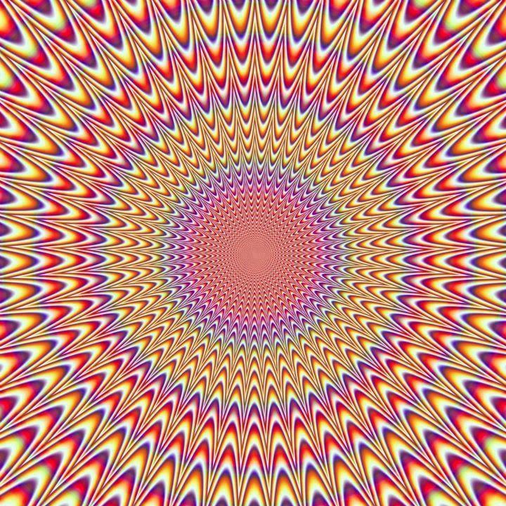 ¿Se mueve? Ilusiones Opticas con Efecto de Movimiento. #IlusionOptica #juegos // Optical illusion