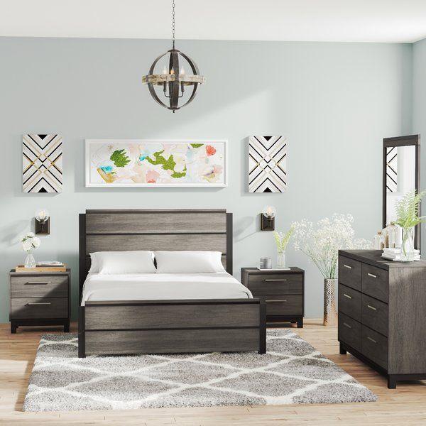 Mandy Platform 5 Piece Bedroom Set With Images Bedroom