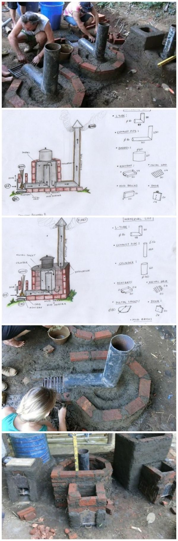 Learn How To Build A Rocket Stove For Earth Friendly Cooking... You might have not heard about earth friendly cooking, but this particular type of cooking uses less heat, removes smoking you up entirely, as well as provides more heat than your usual barbeque grill or regular outdoor stove. The following tutorial will show exactly how to build a rocket stove from scratch, advising to involve recycled materials. by norma