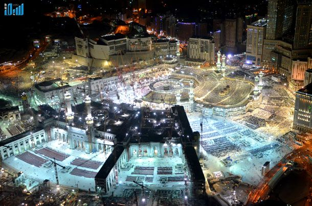 Makkah construction 2013/1434 AH