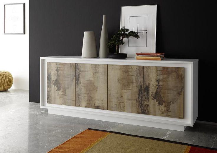 Op zoek naar een modern mat wit dressoir? Die vind je zeker bij Aktie Wonen.nl. Bezoek snel onze site of showroom!