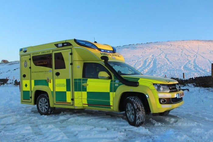 Recently, the first Tamlans Negea Ambulance extradited to England. The ambulance will be built on the basis of a Veth Automotive prolonged Volkswagen Amarok. By 31 cm chassis extension Finnish firm Tamlans has sufficient space to mount a full Ambulance building. The result is a beautiful and dignified terrain hauler that is fully tailored to the needs and wishes of the customer. Read the article in Dutch: http://www.vethautomotive.com/tamlans-amarok-xl-ambulance-voor-engeland/