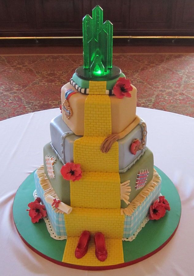 Cake Decorations For Wizard Of Oz : The 310 best images about Wizard Of Oz Theme on Pinterest ...
