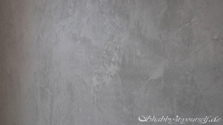 Alpina Farbrezepte Beton-Optik streichen 9