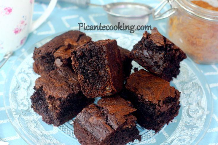 Brownie+z+kropelkami+czekolady+(Brownie+with+chocolate+drops)