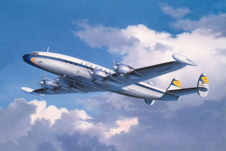 "Super Constellation | Lockheed L-1049 Super Constellation ""Lufthansa"""