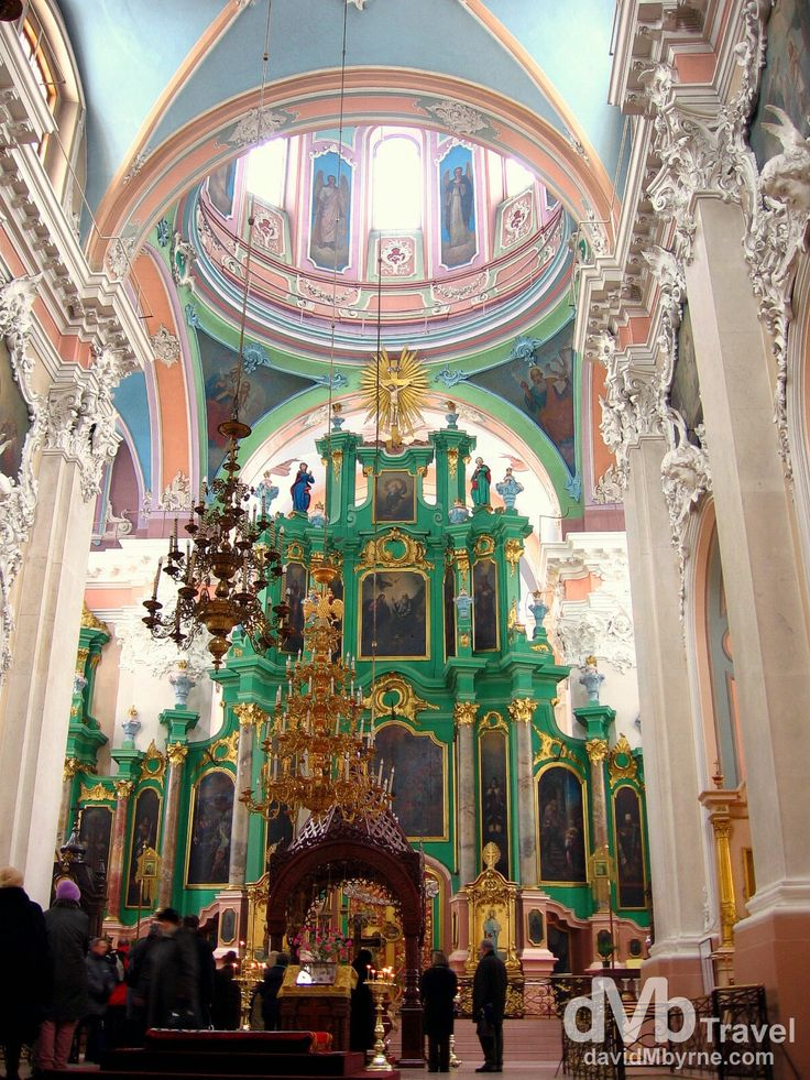 Church of the Holy Spirit, Vilnius, Lithuania | dMb Travel - Travel with davidMbyrne.com