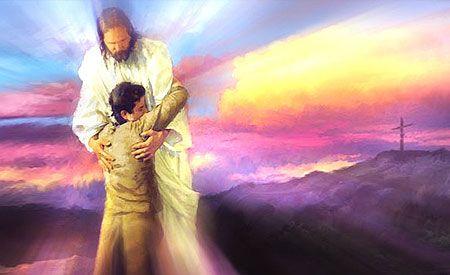 God wil je verlossen! God wil je nieuw maken -spiksplinternieuw- als een herboren kind. Zonder schuld, zonder schaamte, zonder lasten.