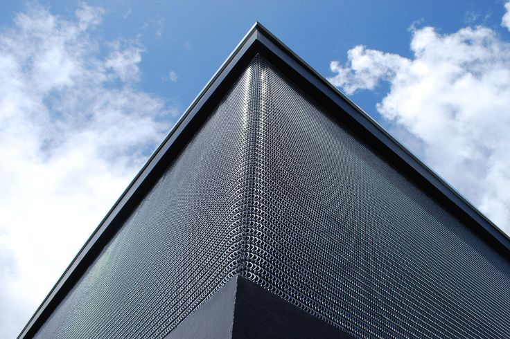 Kaynemaile-Armour Building Facade in Ponsonby, Auckland using award winning polycarbonate mesh. www.kaynemaile.com
