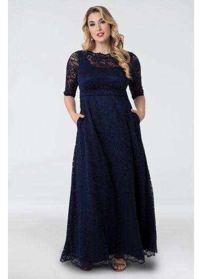 1d93bd75fc570 Leona Lace A-Line Plus Size Gown 11180902