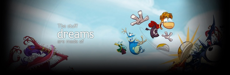 Ubisoft - Rayman, FIFA, F1 teams