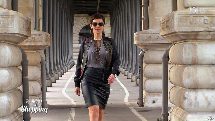 Cristina Cordula dans les Reines du Shopping (Cuir, Cristina Cordula).