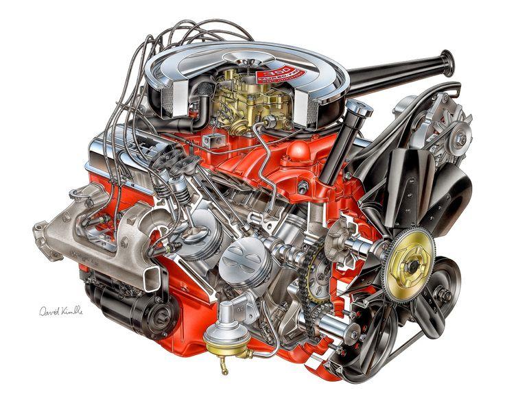 A Dc Edc F B E Technical Illustration Car Parts on 1958 Corvette Engine Block Numbers